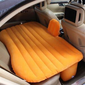 2021 Car travel inflatable air bed with pillow air cushion sleeping pad camping