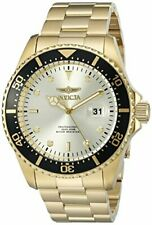 NEW! Invicta Men's Pro Diver Stainless Steel Champagne Dial Quartz Watch 22065