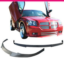 Fits 05 06 07 Dodge Magnum Wagon 4Dr DS Style Front Bumper Lip Spoiler Bodykit