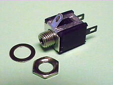 """Switchcraft Mdsl2A 2.56mm / 0.101"""" Micro Jack, Solder Lugs, Panel Mounting"""