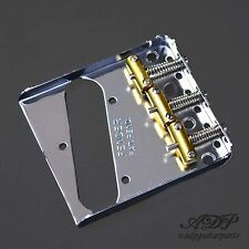 CORDIER TELECASTER FENDER USA PAT-PEND 3xBRASS SADDLE TELE BRIDGE 0990806100