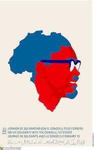 Cuban Political POSTER.Africa.Patrice Lumumba.Congo Cold War Revolution Art.a57