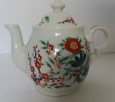 Smithsonian Collection Kakiemon Floral Ceramic Tea Pot -Excellent Condition 6""