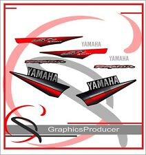 Yamaha Raptor 660 660R Replica Decals Black Model 2003 Graphic Stickers Full Set