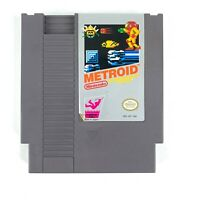 Metroid (Nintendo NES, 1987) Authentic Cartridge Polished Pins Tested