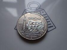 RARE 1985 TWO Hundred Mexican / Pesos $200 Dollar Coin Mexico