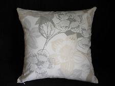 Cream Grays Neutrals Modern Flower Floral Decorator Cushion Cover 45cm Au Made