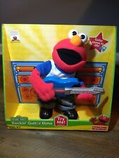 Sesame Street 2008 Rockin Guitar Elmo Rock Roll Sing Dance Fisher Price L9048