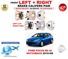 Para Ford Focus III Hatchback Pinzas De Freno Delantero Izquierdo Y Derecho Par 2010 - > en