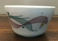 Vintage 50s Walker China Satellite small bowl pudding custard Hurricane Survivor