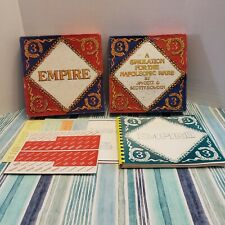 Empire - Napoleonic Wars Simulation Game 3rd Edition - Unpunched -Jim Getz-