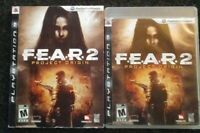 Fear 2 F.E.A.R.2 Project Origin Ps3 Playstation 3 Complete Tested with Sleeve