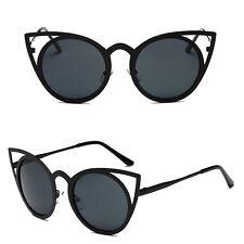 Women Cat Eye Sunglasses Classic Designer Oversized UV400 Eyewear Fashion Shades