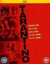 Quentin Tarantino Collection Blu-ray DVD Region 2