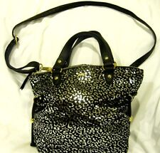 JUICY COUTURE Tote Silver Leopard Print-Juicy Couture Animal Print Purse-New!