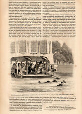 LOUIS XIV ENFANT KID PRESS ARTICLE 1847 PRINT