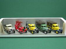 5x Citroen C4 Fourgon im Giftset Geschenkpackung 1:43 Solido LKW Truck Pompiers