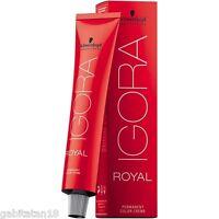Schwarzkopf Igora Royal Hair Color 60ml - IGORA ROYAL HAIR COLOUR