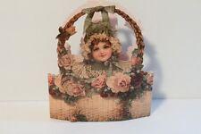 The Gifted Line Girl in a Flower Basket Box John Grossman 1988 NEW