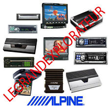 Ultimate ALPINE Car Audio Radio  Repair Service Manual & Schematics  120 on DVD