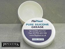 Floplast Silicone Grease 100g Lubricating Faucets Valves Ballcocks Stopcocks