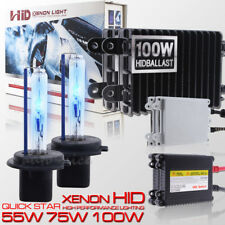 55W 75W 100W  H7 Xenon HID Conversion Kit Fog Light Lamp Replacement 3K 5k 6k 8k
