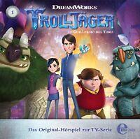 TROLLJÄGER - (1 )ORIGINAL HÖRSPIEL Z,TV-SERIE- DAS AMULETT   CD NEU