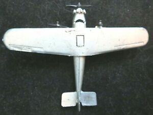 Vintage TootsieToy RARE #4649 Silver Ford Tri-Motor Plane Mfg 1932