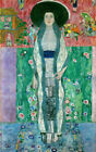 Portrait of Adele Bloch-Bauer ,Gustav Klimt Picture Giclee Canvas Print Painting