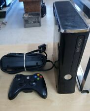 Microsoft Xbox 360 S 250Gb Glossy Black Console with controller