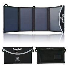 24W Foldable Solar Panel charger with 15V 5V output for  12V 5V battery devices