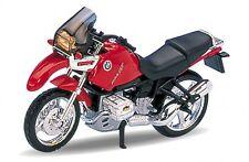 BMW R1100 GS rouge, Welly Moto Modèle 1:18