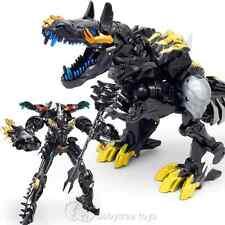 Transformers WJ Film Black Grimlock Dragon Metal Part Action Figures 22CM No Box