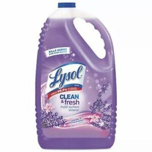 Lysol Clean & Fresh Multi-Surface Cleaner, 144 oz, Lavender, Each (RAC88786EA)