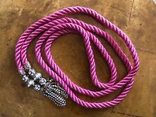 Vintage Braided Curtain Tie Back Rhinestone Tassel Pink Curtain Tassel Cord Belt