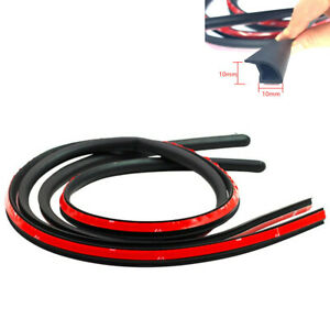 1.2M Rubber Sealing Strip Weatherstrip Black Fit For Car Door Trunk Edge Protect