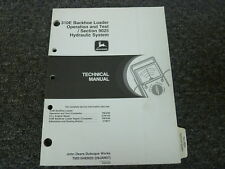 John Deere 310E Backhoe Loader Hydraulic System Service Repair Manual TM1648