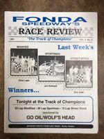 "~Fonda Speedway's Race Review Magazine June 1, 1991 ""Track of Champions"" (CC4222"