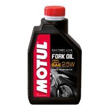 Huile Motul Fork Oil Factory Line Very Light 2.5W 1 Litre, pour fourche moto