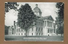 Flint,MI Michigan Genesee County Court House used 1907