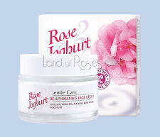 Rose Joghurt Rejuvenecimiento Rostro Crema Natural Con Aceite De Rosa Y Yogurt