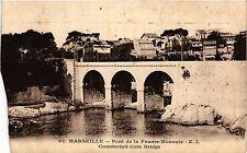 CPA MARSEILLE Pont de la Fausse Monnaie (405096)