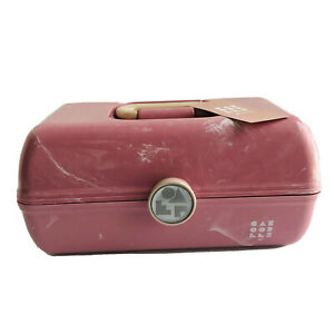 Caboodles Rare Pink Marble On The Go Girl Classic Cosmetic Makeup Travel CaseNEW