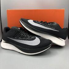 Nike Zoom Fly Men's Running Shoes Size 8.5 880848 001 Black White Oreo Flyknit