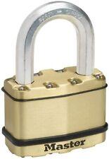 MASTER LOCK  EXCELL Heavy Duty Padlock [Key] 64mm (BRASS)