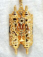Torah Functional Necklace 14 Karat