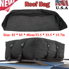 Waterproof Roof Top Carrier Cargo Bag Rack Storage Luggage for Travel Car SUV