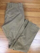 Old Navy Ultimate Skinny Flat Front Casual Khakis Tan Pants Men's Size 31 x 30
