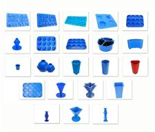 Set of Every Candle Mould Wax Melt Votive Pillar Spheres Cake Slice etc. S7678