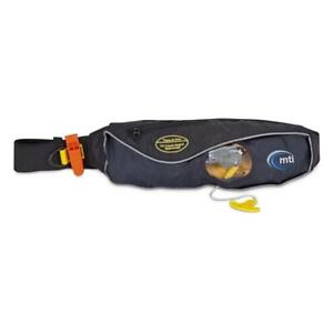 MTI Fluid 2.0 Belt Pack PFD for Stand Up Paddleboarding - SUP - Black